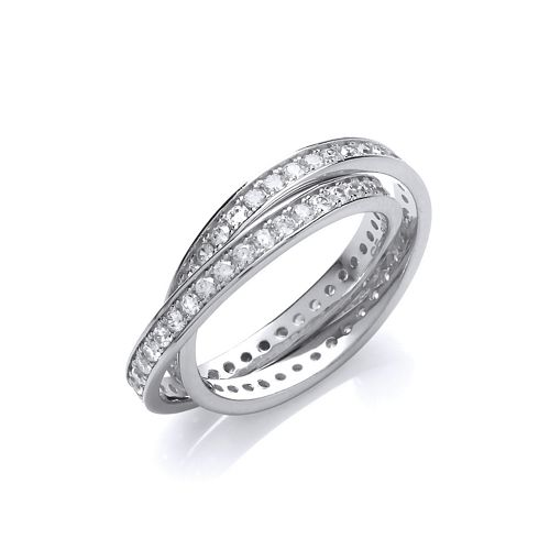 Twin Band Ring