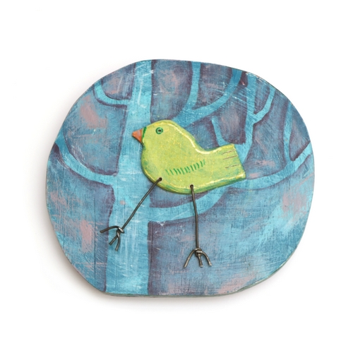 Birdie Plaque No.3