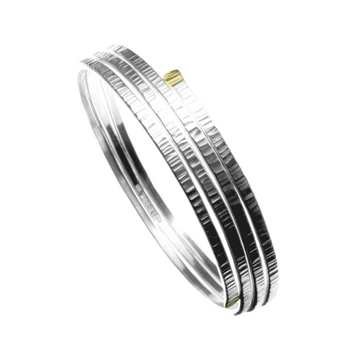 Triple Leaf Bangle