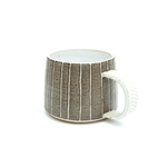 Brown Stripy Mug