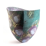 Elderberry & Teal I Vessel