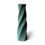 Twist Faceted Porcelain Vase