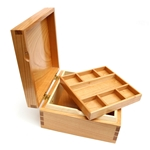 Jewellery Box English Cherry/Rippled Sycamore