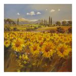 Tuscany with Sunflowers