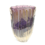 Purple Trailed Vase