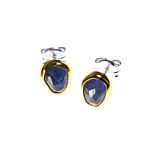 Earrings, Tanzanite