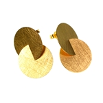 Earrings Large Gold Circles