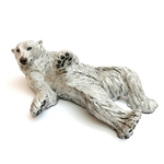 Polar Bear Reclining