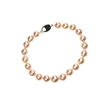 Bracelet Pink FWPearl, Silver Clasp