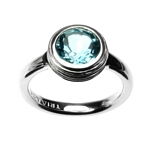 Ring Large Topaz Crease