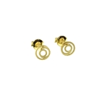 Stud 14ct Gold Earrings
